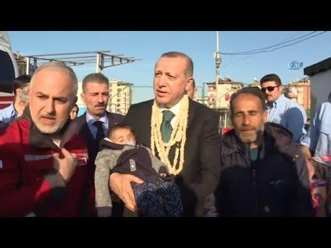 Cumhurbaşkanı Erdoğan, Doğu Guta'da Gözünden Yaralanan Kerim Bebek İle Buluştu
