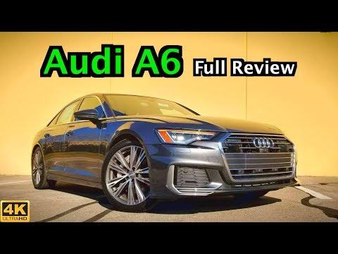 2019 Audi A6: FULL REVIEW + DRIVE | The Goldilocks Audi Sedan?