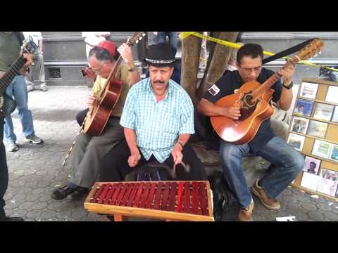 Downtown San Jose Costa Rica Street Music