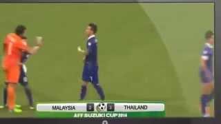 MALAYSIA VS THAILAND (2-3) AFF SUZUKI CUP 2014 GROUP B