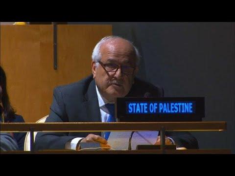الأمم المتحدة تمنح فلسطين صلاحيات -رئاسية-  - 10:54-2018 / 10 / 17