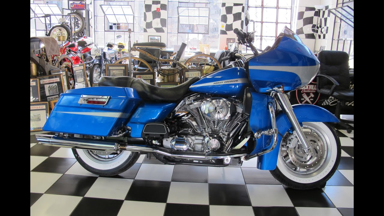 small resolution of 2004 harley davidson road glide fltri impact blue
