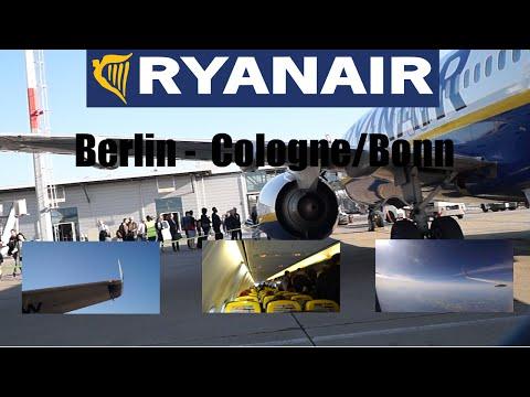 TRIP REPORT RYANAIR BERLIN SCHÖNEFELD ✈ COLOGNE BONN (SXF - CNG)
