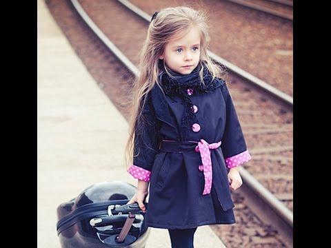 Детское пальто из Китая. Очень классное! Сезон осень-весна. Одежда для девочек с Aliexpress.