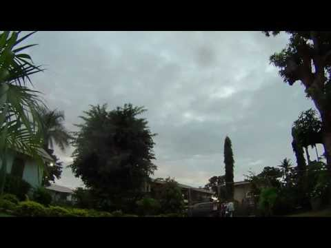 Sony Action cam Time  lapse test in Nadi Fiji