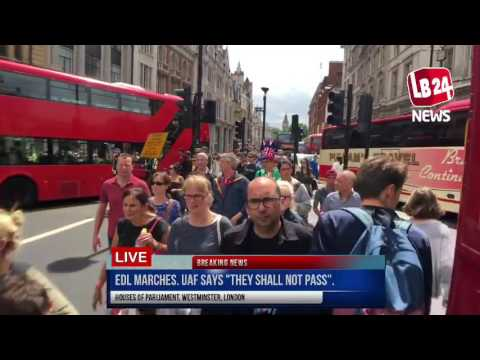 "EDL marches. UAF says ""they shall not pass"". Who will win? [24 June 2017]"