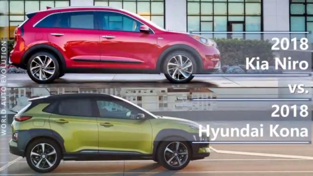 2018 Kia Niro Vs Hyundai Kona Technical Comparison