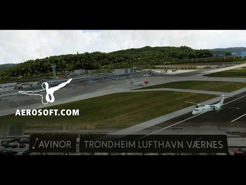 Aerosoft Official - Trondheim airport, Værnes V2