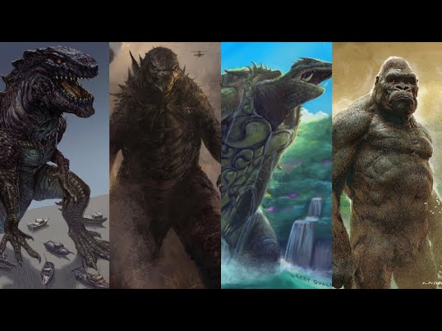 Godzilla King of the Monsters Trailer w/ Gamera Zilla and Kong