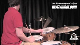 "Paiste 20"" Twenty Masters Dark Dry Ride Cymbal (5501720-1052411D)"