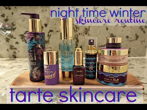 Night Time SkinCare Routine 2018 | Tarte Skincare