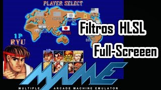 Mame - Filtros HLSL y Full Screen