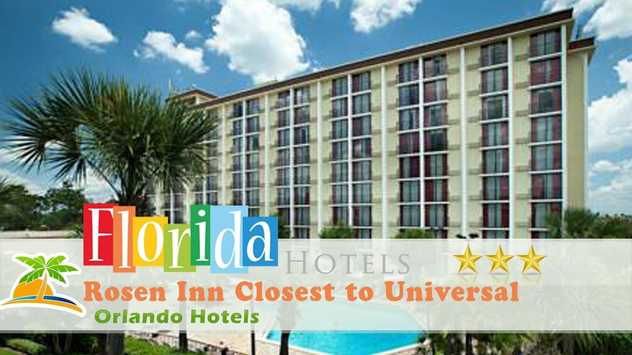 Rosen Inn Closest To Universal Orlando Hotels Florida