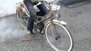 mobylette motobcane av3 redemarage