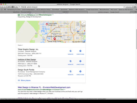 2017 Local SEO Success, Google Maps - Miami, Florida