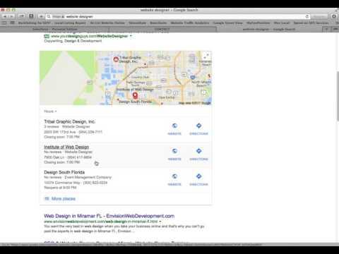 2017 Local SEO Success, Google Maps - Miami, Florida