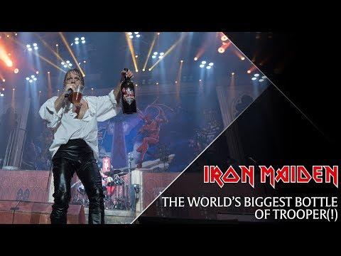 Iron Maiden - The world's biggest bottle of Trooper!