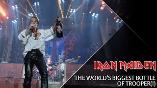 Iron Maiden - The world's biggest bottle of Trooper!