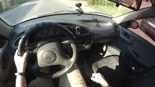 2006 Daewoo Sens, Zaz Chance, ЗАЗ Шанс 1.3l 70hp POV TEST Drive