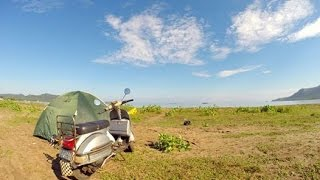 adventure touring vespa to geopark ciletuh ujung genteng sukabumi with infovespabdg