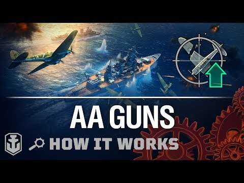 How It Works: AA Guns And Fighters | World Of Warships