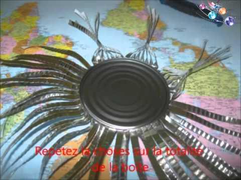 D coration recyclage boite de conserve youtube - Deco jardin recyclage lyon ...