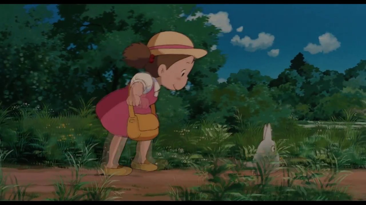 Image Result For My Neighbor Totoro Official Trailer Youtube