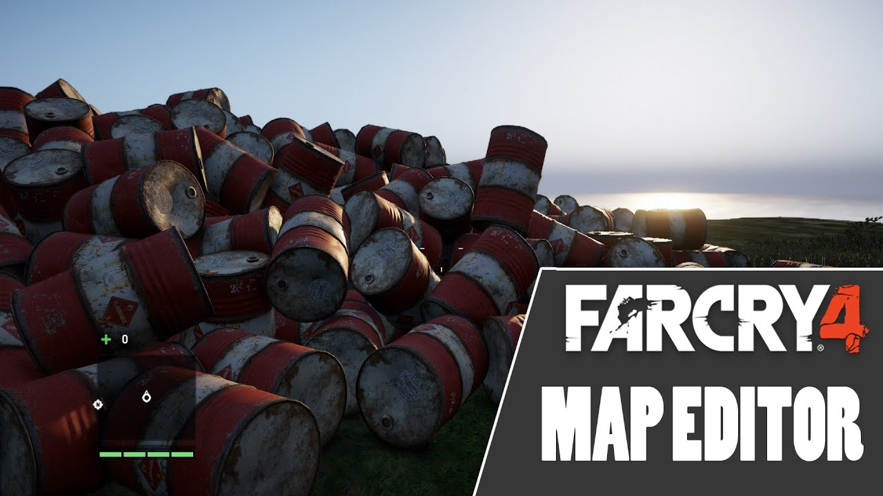 far cry 4 map editor how to remove water