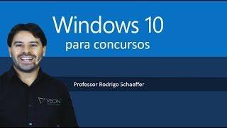 Windows 10 para concursos - Aula ao vivo de informática