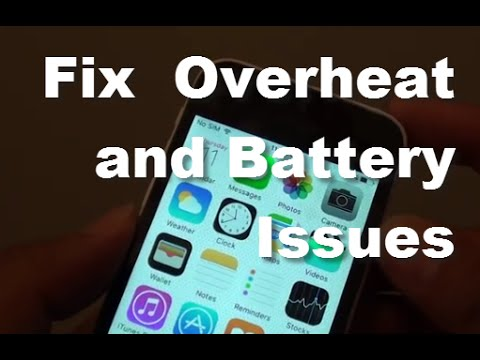 how to make an iphone overheat