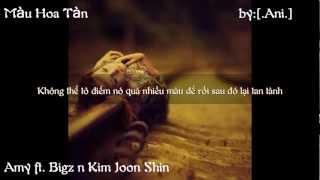 [Lyric] Màu Hoa Tàn - Amy ft. Bigz n Kim Joon Shin