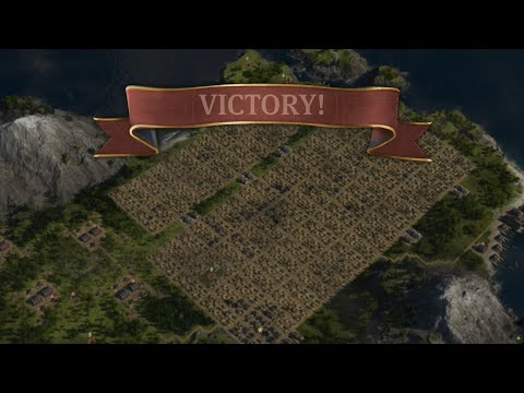 Anno 1800 ~ For Fun ~ 10k people ~ 13 min ~ Speedrun |