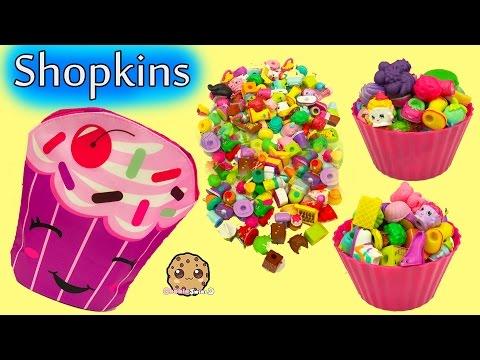 Shopkins Cupcake Surprise , Bag of Season 5 Packs & Mystery Toy Blind Bags
