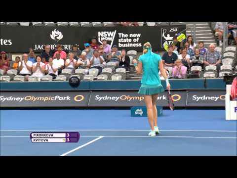 Petra Kvitova 2015 Apia International Sydney Semifinal Hot Shot