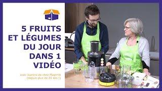 Démonstration Juice Expert Magimix - centrifugeuse, presse-fruits, râpe à légumes...