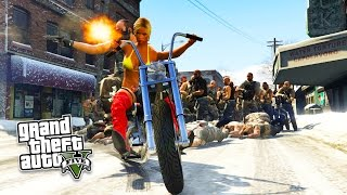 GTA 5 PC Mods - NORTH YANKTON MOD!!! North Yankton FREE ROAM & Exploration! (GTA 5 Mods Gameplay)