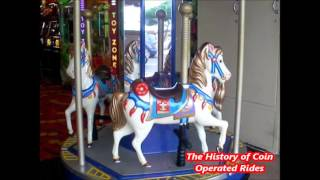 1990s Coin Operated Carousel Kiddie Ride
