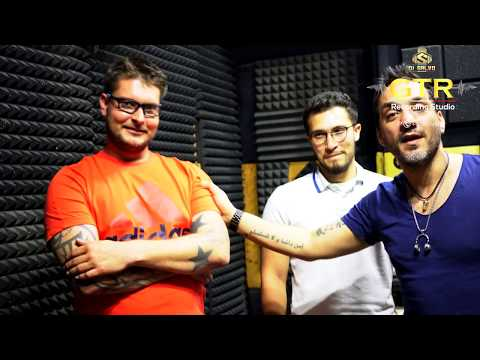 BEATBOX FROM MCMB Band Behind the scene @ GTR Studio Dubai with Salvo Riggi