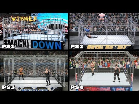 The Evolution Of The Cage Match In WWE Games (2000-2016)
