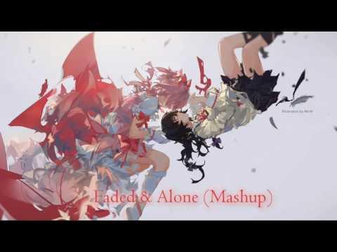 Faded x Alone (Mashup) Nightcore