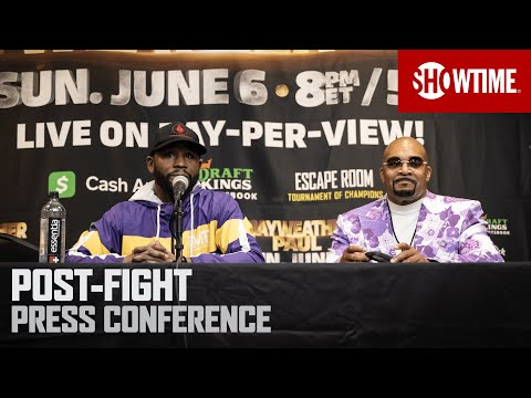Mayweather vs. Paul: Post-Fight Press Conference | SHOWTIME