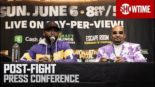 Mayweather vs. Paul: Post-Fight Press Conference   SHOWTIME PPV