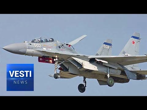 Russian Ministry of Defense Showcases Cutting-Edge Su-30SM Fighter