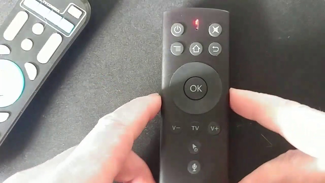 Great Air Mouse Voice 2 4G Program & First Look - Android TV MeCool M8S etc