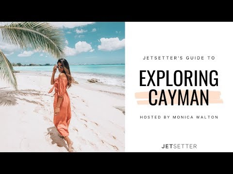 #GoLater: VirtualTravel to Grand Cayman Island with Monica Walton  | Jetsetter.com