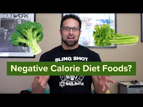 Negative Calorie Diet Foods?