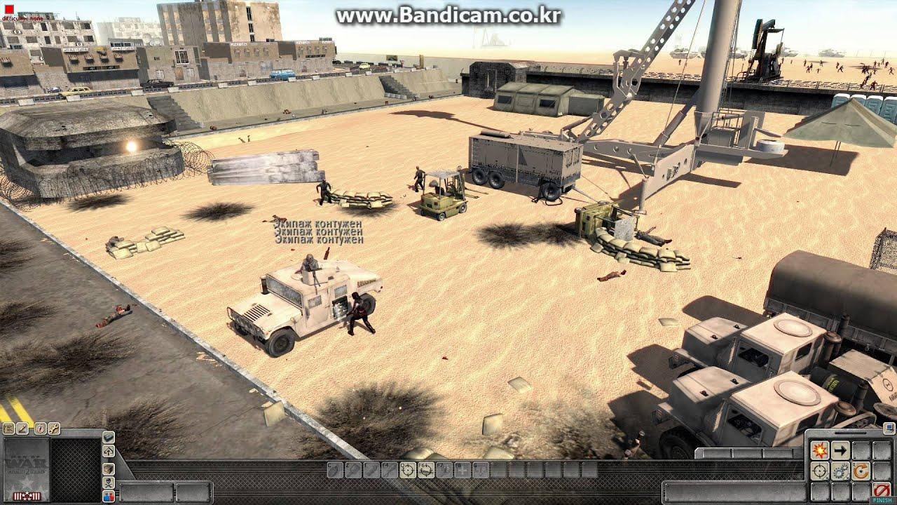 Men Of War - Zombie Mod Texas Defence Line - YouTube