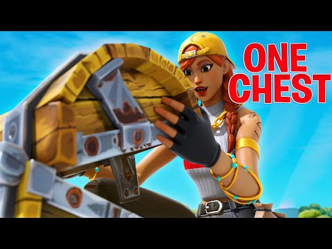 Faze H1ghSky1 ONE CHEST Challenge In Fortnite Battle Royale!