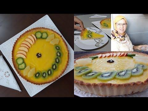 طورطة-الليمون-أو-الحامض🍋-بطريقة-جد-سهلة-وناجحة-من-يد-الحاجة-فاطمة