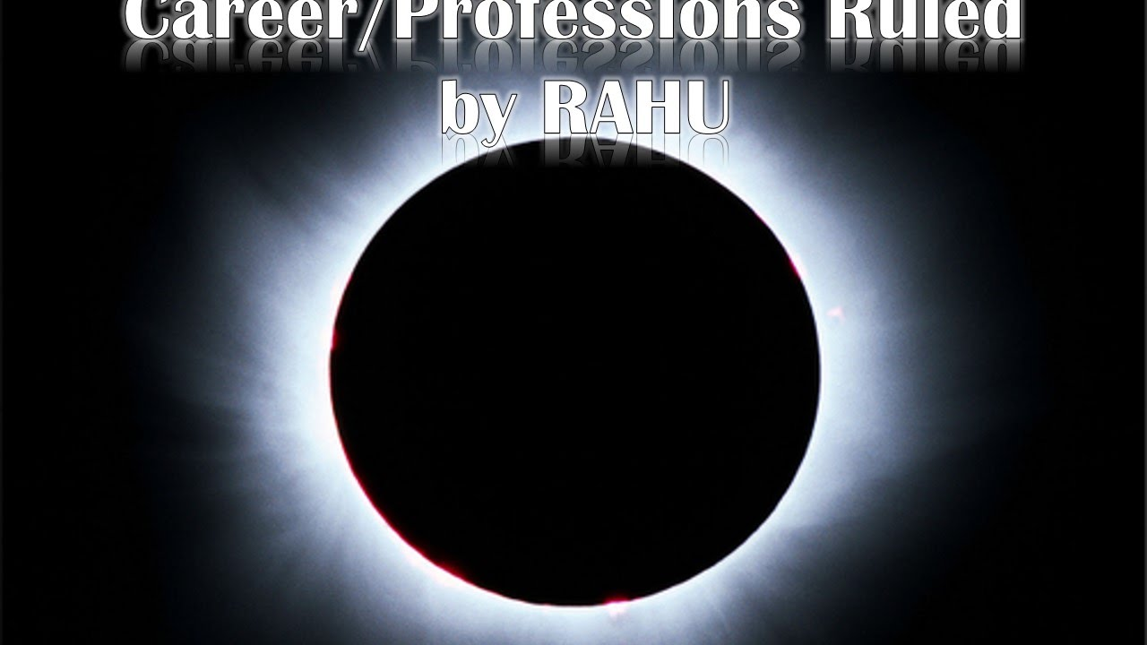 Career/Professions Ruled by RAHU (Vedic Astrology)